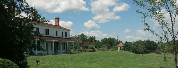 Sotterley Plantation is one of St. Mary's City Guide.
