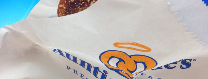 Auntie Anne's is one of Work places.