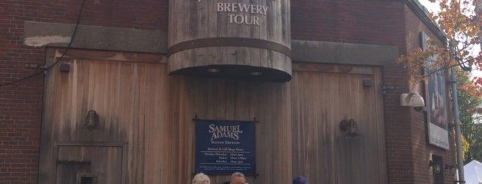 Samuel Adams Brewery is one of Katie's tips.