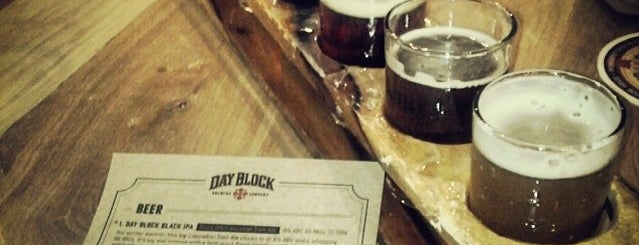 Day Block Brewing is one of Businesses & stores supporting Sunday liquor sales.