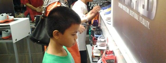 Nike is one of Putrajaya.