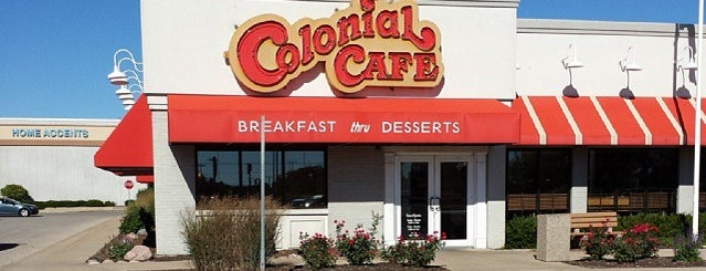 Colonial Cafe is one of Aurora illinous.