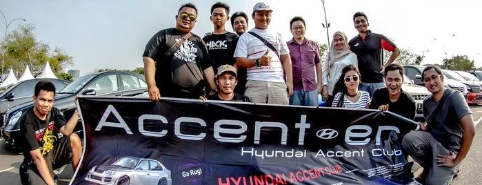 Jakarta Drift Circuit is one of Enjoy Jakarta 2012 #4sqCities.