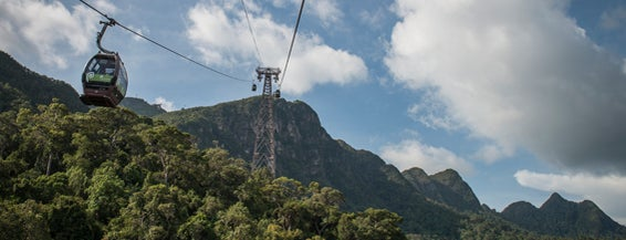 Langkawi Cable Car is one of Lufthansa Magazin.