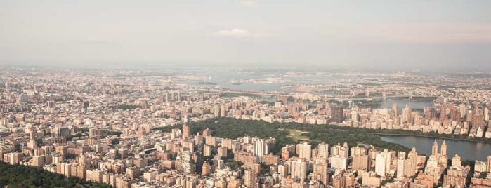 Central Park is one of Lufthansa's tips.