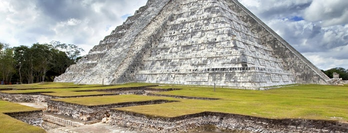 Chichen Itza is one of Lufthansa Magazin.