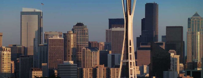 Space Needle is one of Lufthansa's tips.