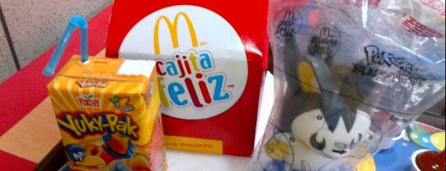 McDonald's is one of Restaurantes Venezuela.