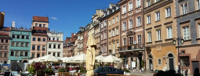 Rynek Starego Miasta | The Old Town Market is one of 36 hours in...Warsaw.