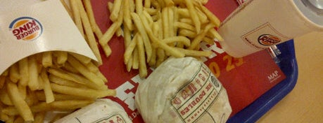 Burger King is one of 20 favorite restaurants.