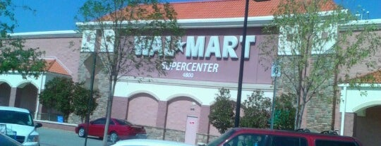 Walmart Supercenter is one of Miscellaneous Shops.