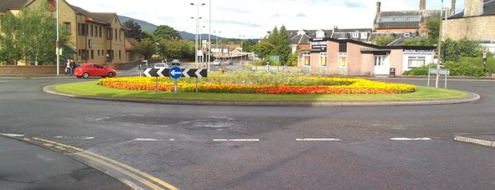 Marshill Roundabout is one of Named Roundabouts in Central Scotland.