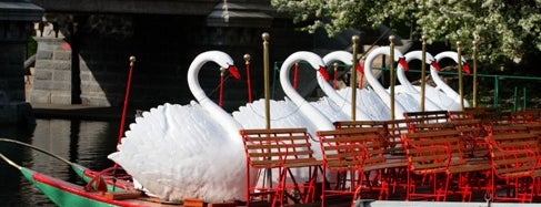 The Swan Boats is one of Interesting Items to Check Out.