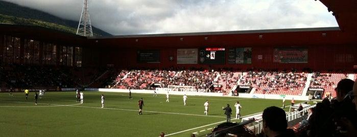 Stade de la Maladiere is one of Fussballstadien Schweiz.