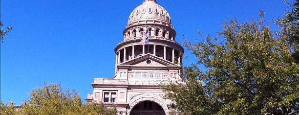 Texas State Capitol is one of Keep Austin Weird Badge.