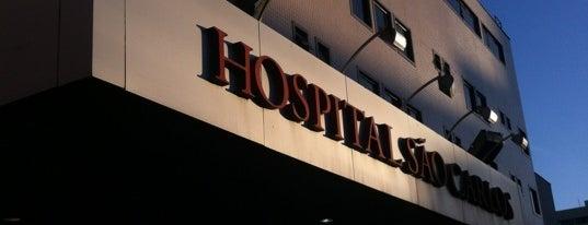 Hospital São Carlos is one of Wi-fi grátis.
