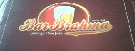 Bar Brahma is one of em Sampa.