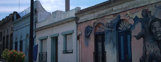 Palermo is one of Montevideo City Badge - Mateína.