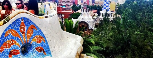 Park Güell is one of Best places for Jaw dropping views of Barcelona.