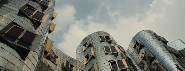 Neuer Zollhof is one of Dusseldorf / Germany.