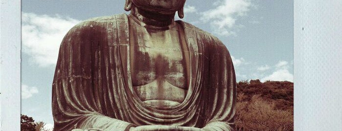 鎌倉大仏 (Great Buddha of Kamakura) is one of Japan must-dos!.