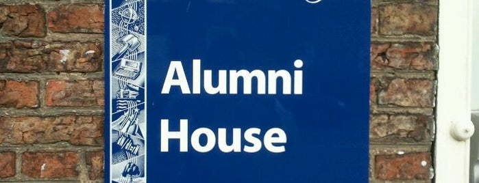 Alumni House is one of Inspired locations of learning.