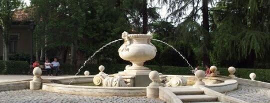 Parque Quinta de la Fuente del Berro is one of @ Madrid (MD, España).