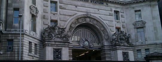 London Waterloo Railway Station (WAT) is one of Train stations.