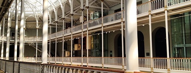 National Museum of Scotland is one of Edinburgh.