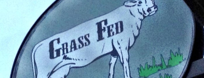 Grass Fed is one of Best Places in Jamaica Plain.