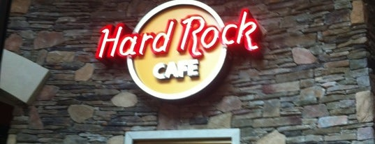 Hard Rock Cafe Foxwoods is one of ** my list **.