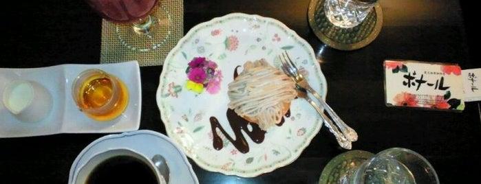 ボナール is one of KAMIの喫茶食事飲み処.