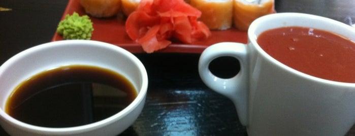 Fuji Sushi is one of Sushi. Kyiv. Японская кухня.