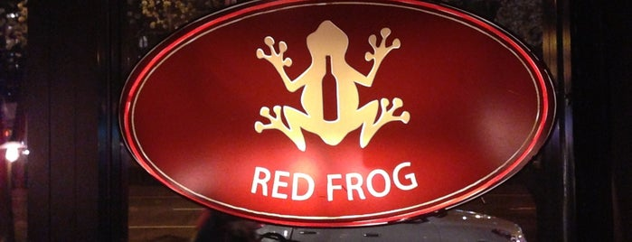 Red Frog is one of Faves.