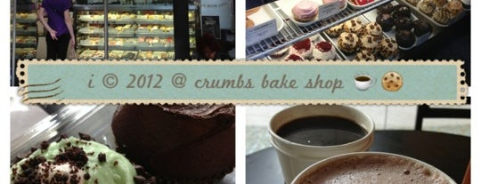 Crumbs Bake Shop is one of Favorite places.