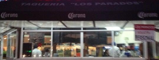 Los Parados is one of Best Tacos Mexico City.