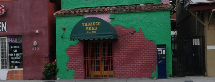 Tobacco Road is one of Miami City Guide.