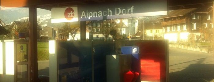 Bahnhof Alpnach is one of Bahnhöfe Top 200 Schweiz.