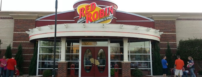 Red Robin Gourmet Burgers is one of Good Eats.