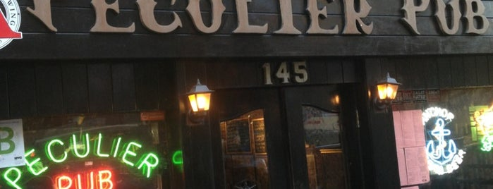 Peculier Pub is one of My favorite NYC spots.