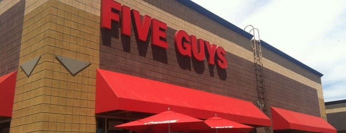 Five Guys is one of Yummy In My Tummy.