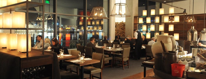 Wit and Wisdom, a Tavern by Michael Mina is one of Baltimore Sun's 100 Best Restaurants (2012).