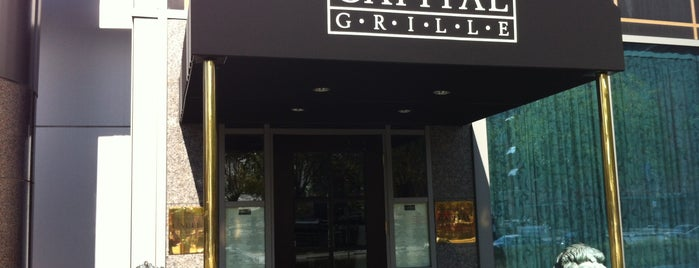 The Capital Grille is one of Baltimore Sun's 100 Best Restaurants (2012).