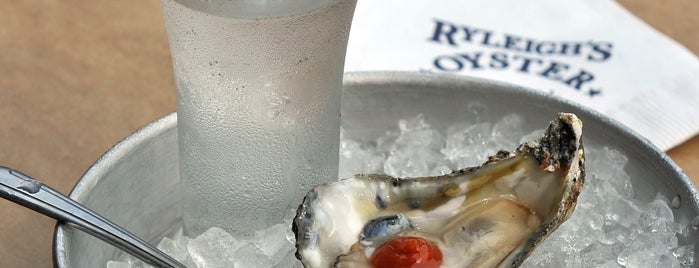 Ryleigh's Oyster is one of Baltimore's Best Seafood - 2012.
