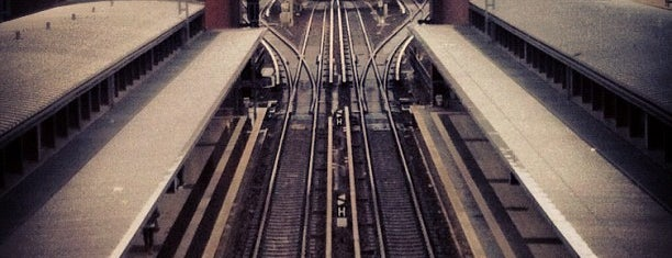 Bahnhof Berlin Gesundbrunnen is one of Besuchte Berliner Bahnhöfe.