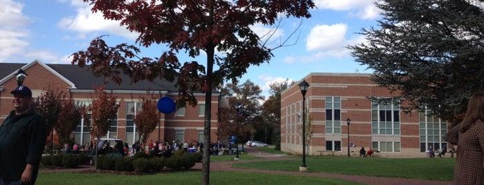 Academic Quad is one of Elizabethtown College.