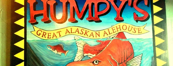 Humpy's Great Alaskan Alehouse is one of Man v Food Nation.