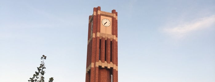 Clock Tower is one of University of Oklahoma.