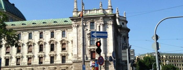 H Karlsplatz (Stachus) is one of München Tramlinie 17.