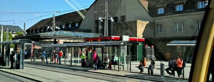 Karlsruhe Hauptbahnhof is one of Bahnhöfe DB.